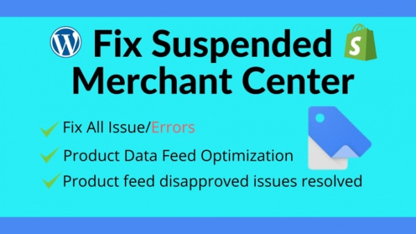 Hire a Google Merchant Center Suspension Specialist / Freelancer